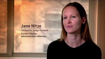 Judicial Crisis Network TV Spot, 'Jane' - Thumbnail 1