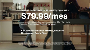 Fios by Verizon TV Spot, 'Media casa' [Spanish] - Thumbnail 8