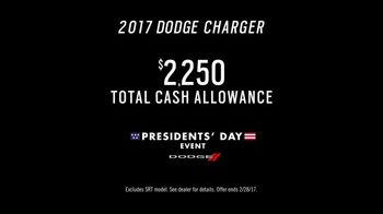Dodge Presidents' Day Event TV Spot, '2017 Charger' Song by Metallica [T2] - Thumbnail 10