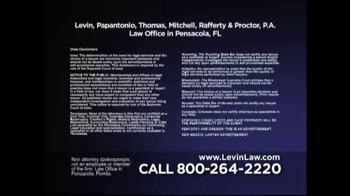 Levin Law TV Spot, 'Hernia Mesh Alert' - Thumbnail 5