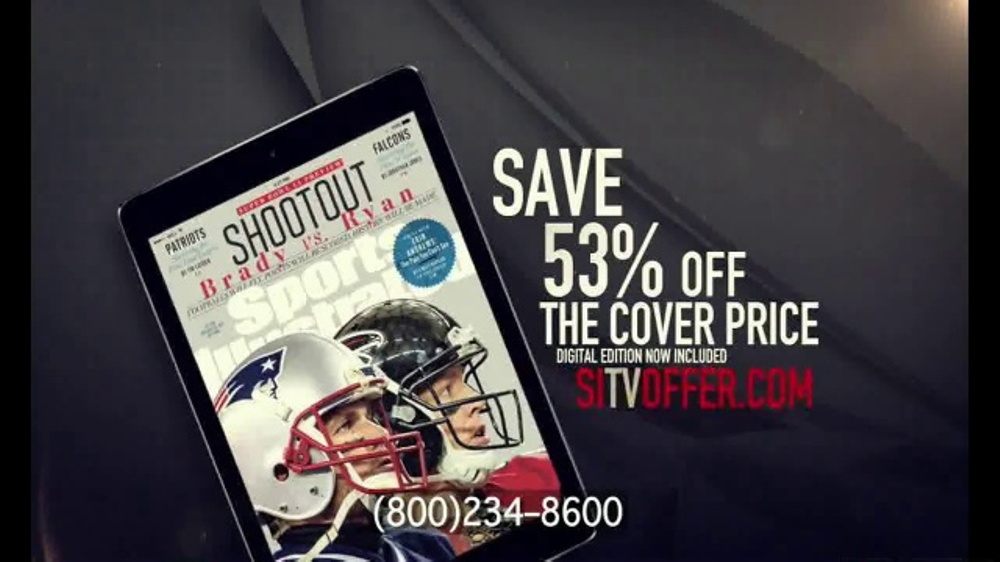 Sports Illustrated TV Commercial, 'Super Bowl 51 Patriots Package'