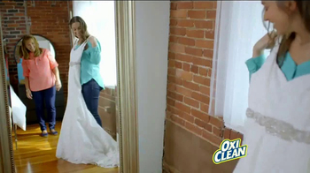 OxiClean TV Spot, 'Dear OxiClean: You Saved My Wedding Dress' - Thumbnail 5