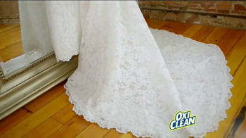 OxiClean TV Spot, 'Dear OxiClean: You Saved My Wedding Dress' - Thumbnail 3