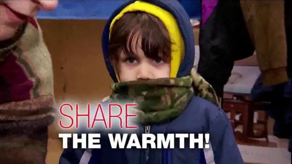 Burlington Coat Factory Warm Coats & Warm Hearts Drive TV Commercial, 'ABC: Join'