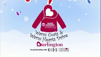 Burlington Coat Factory Warm Coats & Warm Hearts Drive TV Spot, 'ABC: Join' - Thumbnail 10