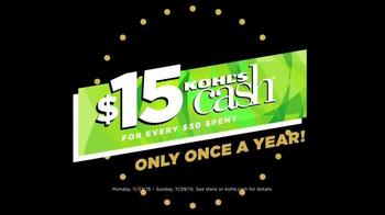 Kohl's Black Friday Deals TV Spot, 'Kohl's Cash' - Thumbnail 4