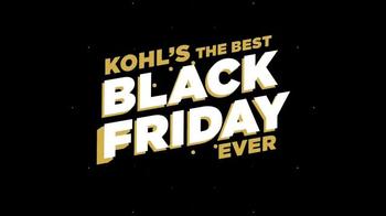 Kohl's Black Friday Deals TV Spot, 'Kohl's Cash' - Thumbnail 5