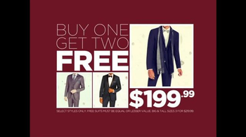 K&G Fashion Superstore Thanksgiving Sale TV Spot, 'Suits for Men and Women'
