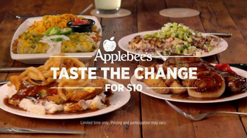 Applebee's Taste The Change for $10 TV Spot, 'Everyone Wants a Taste' - Thumbnail 1