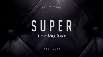 JoS. A. Bank Super Two-Day Sale TV Spot, 'Doorbusters'