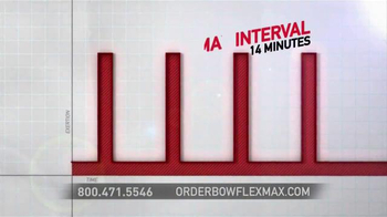 Bowflex Max Trainer TV Spot, 'Max Interval' - Thumbnail 4