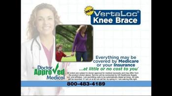 VertaLoc Knee Brace TV Spot, 'Customized Lateral Technology' - Thumbnail 7