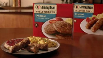 Jimmy Dean Fully Cooked Sausage TV Spot, 'Breakfast Complete' - Thumbnail 10