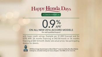 Happy Honda Days Sales Event TV Spot, 'Party' - Thumbnail 8