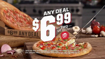 Pizza Hut $6.99 Any Deal TV Spot, 'Hot Chocolate Brownie' - Thumbnail 3