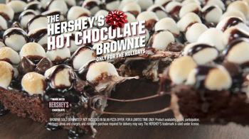 Pizza Hut $6.99 Any Deal TV Spot, 'Hot Chocolate Brownie' - Thumbnail 8