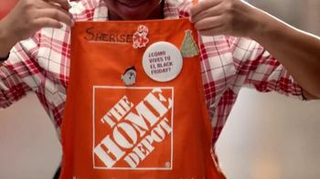 The Home Depot Black Friday TV Spot, '¿Cómo lo vives?' [Spanish]