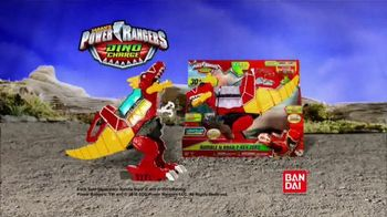 Power Rangers Dino Charge Rumble and Roar T-Rex Zord TV Spot, 'Spin Attack'