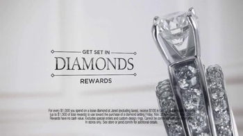Jared Get Set in Diamonds Rewards TV Spot, 'Unlike Any Other' - Thumbnail 2