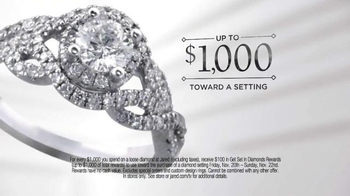 Jared Get Set in Diamonds Rewards TV Spot, 'Unlike Any Other' - Thumbnail 3