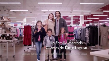 Burlington Coat Factory TV Spot, \'La Familia Mercado\' [Spanish]