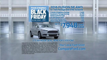 Ford Black Friday Pricing Event TV Spot, 'Inside Deal: Fusion' - Thumbnail 5