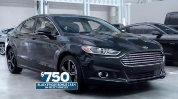 Ford Black Friday Pricing Event TV Spot, 'Inside Deal: Fusion' - Thumbnail 2