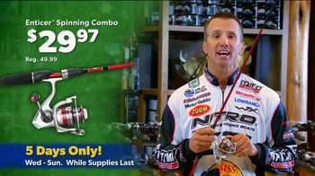 Bass Pro Shops Thanksgiving 5-Day Sale TV Spot, 'Spinning Combos and More'