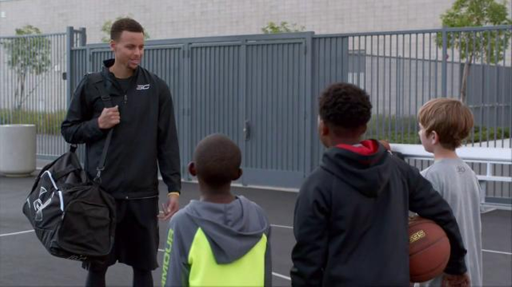 quality design e6aef a11fd Kids Foot Locker TV Commercial, 'Just Like the Pros' Featuring Stephen  Curry - Video