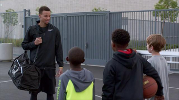 Kids Foot Locker TV Spot, \'Just Like the Pros\' Featuring Stephen Curry