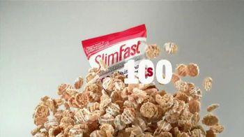 SlimFast Advanced Snacks TV Spot, 'Lose Weight Fast'