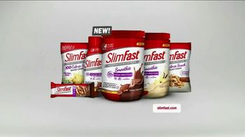 SlimFast Advanced Smoothie Mix TV Spot, 'Meal Replacement'
