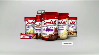 SlimFast Advanced Smoothie Mix TV Spot, \'Meal Replacement\'