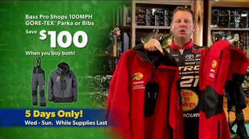 Bass Pro Shops Thanksgiving 5-Day Sale TV Spot, 'Rain Gear and Hoodies' - Thumbnail 5