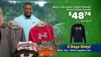 Bass Pro Shops Thanksgiving 5-Day Sale TV Spot, 'Rain Gear and Hoodies' - Thumbnail 6