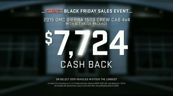 GMC Black Friday Sales Event TV Spot, 'Store Camping' - Thumbnail 7