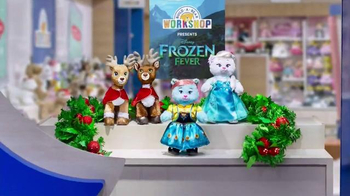 Build-A-Bear Workshop Frozen Fever TV Spot, 'Anna and Elsa Bears'