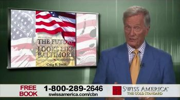 Swiss America TV Spot, 'The Future Looks Like Baltimore' Feat. Pat Boone - 8 commercial airings