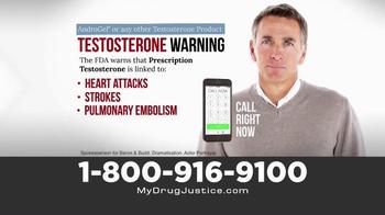 Baron & Budd, P.C. TV Spot, 'Prescription Testosterone Warning'