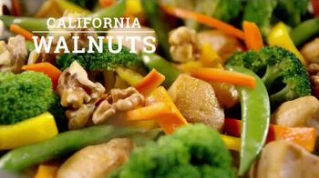 California Walnuts TV Spot, 'Simple Stir-Fry' - 2333 commercial airings