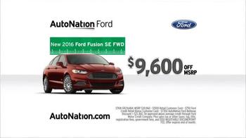 AutoNation Ford Sales Drive TV Spot, 'Game Changing Savings' - Thumbnail 5