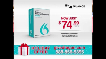 Nuance Dragon NaturallySpeaking 13 Home TV Spot, 'Holiday Bundle' - Thumbnail 7