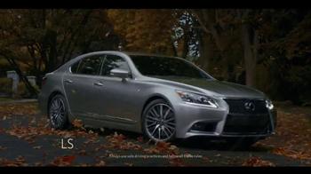 Lexus TV Spot, 'Conquer the Weather' [T1] - Thumbnail 5