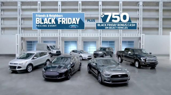 Ford Black Friday Pricing Event TV Spot, 'Inside Deal: Escape' - Thumbnail 1