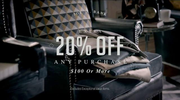 JoS. A. Bank Pre-Thanksgiving Sale TV Spot, 'A Smart Look' - Thumbnail 9