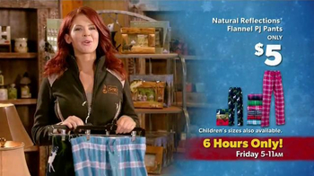 Bass Pro Shops Black Friday Sale TV Spot, 'PJ Pants, Jackets and Gloves'