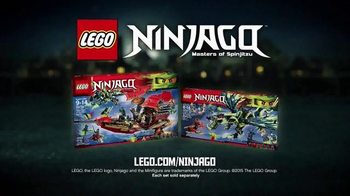 LEGO Ninjago TV Spot, 'Destiny's Bounty vs. The Ghost Dragon' - Thumbnail 6