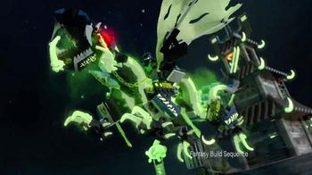 LEGO Ninjago TV Spot, 'Destiny's Bounty vs. The Ghost Dragon' - Thumbnail 3