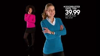 Macy's Black Friday Sale TV Spot, 'Thanksgiving Doorbusters' - Thumbnail 2