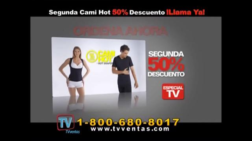 Hot Shapers Cami Hot TV Commercial, 'Gorditos en el cuerpo'